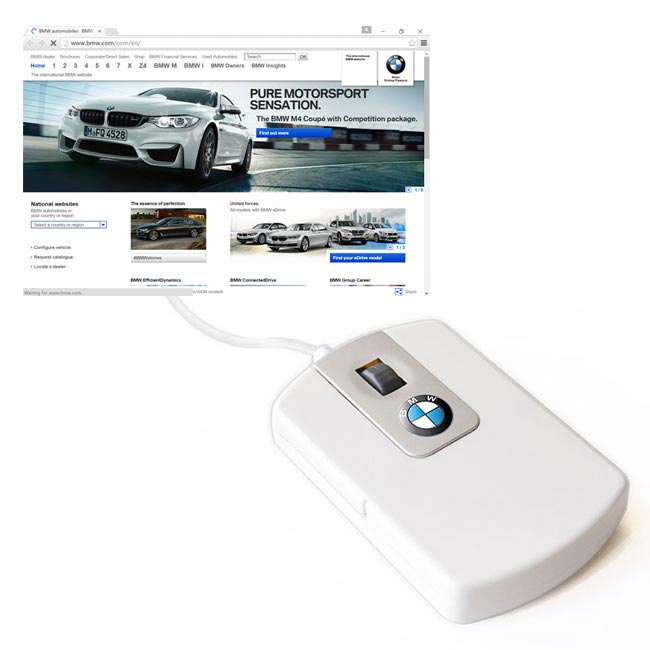 Touch Webkey Mouse