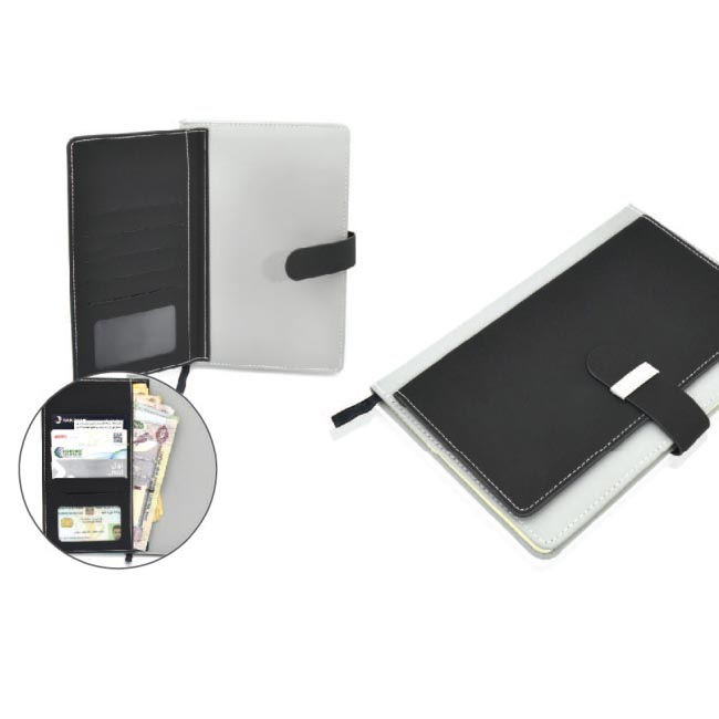 Notebook with Wallet