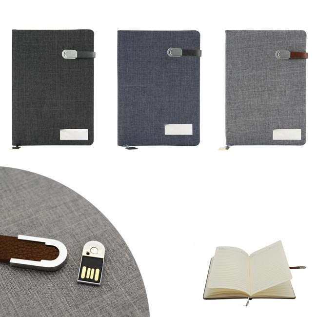 Notebook with USB