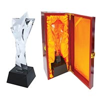 Crystal Star Trophy CR-13