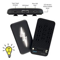 Light Up Logo 5000 mAh Powerbank