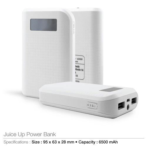 Power Banks 6500 mAh