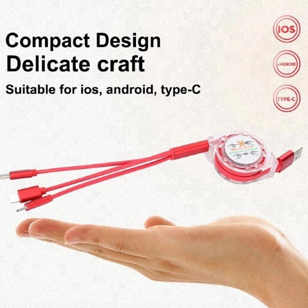 Flexible 3in1 USB Cable