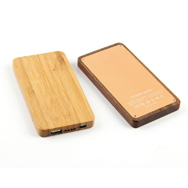 Wooden Powerbank