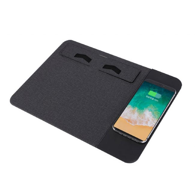 Wireless Charging Mouse Pad with Mobile Stand