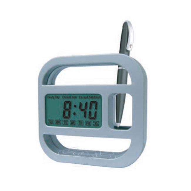 Desk Clock With Day