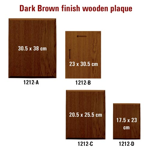 Wooden Plaques 1212