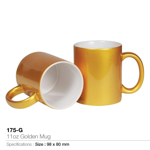 Mugs in Gold ...
