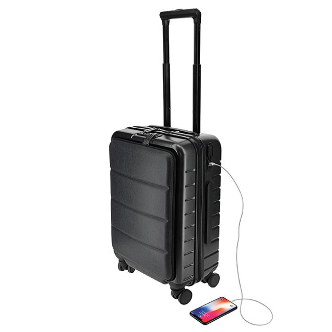 Cashel - 20 Inch Trolley Case With Front Pocket