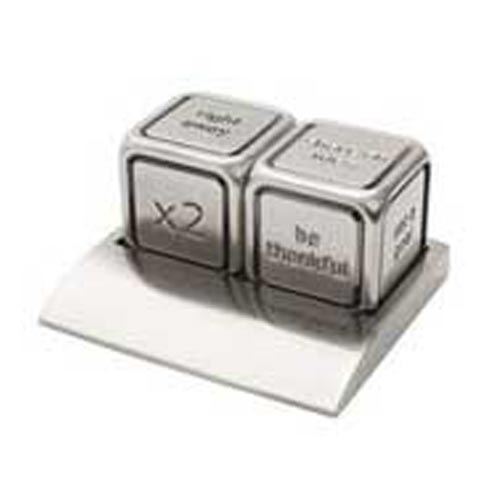Metal Decision Dice