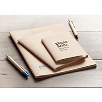 A6 Notebook With Cardboard Cover