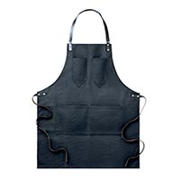 Apron With Leather Straps