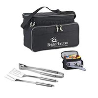 Cooler Bag with 3PC BBQ Tools