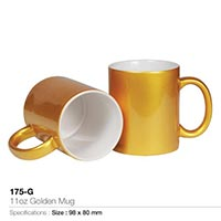 Mugs in Gold / Silver 175