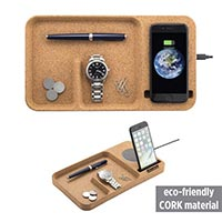 Wireless Charger with Tray Organizer