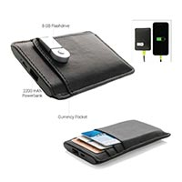 Wallet Power Bank with USB