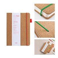 Wood Notebook with Thin Strap