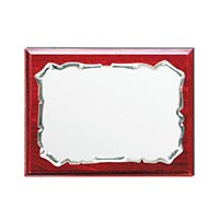 Wooden Plaques with Laserable Plate 1248