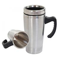 Car Stainless Steel Mug In & Out Steel