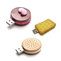Customized Biscuit shape USB