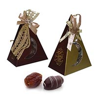 Dates Coated with Chocolate