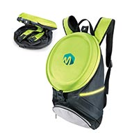 Foldable Bagpack with Hard Cover