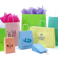 Matte Paper Bag with Rope Handle