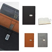 PU Leather Diary Notebook