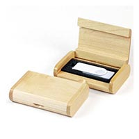 Wooden Box for USB Packaging